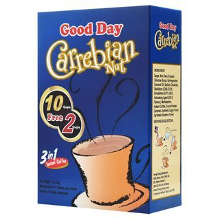 Three O'Clock - Good Day Indonesian 3in1 Instant Coffee Carrebian Nut 20g x12