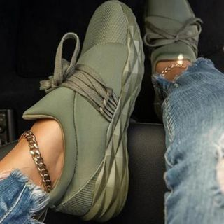 YIVIS - Platform Lace Up Sneakers