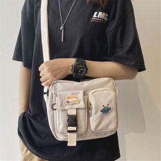 SUNMAN - Buckled Crossbody Bag