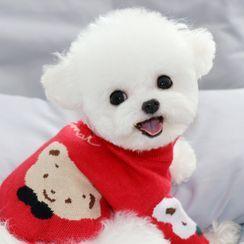 Bixin - Bear Knit Pet Top