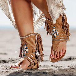 Avanti - 贝壳船跟罗马凉鞋