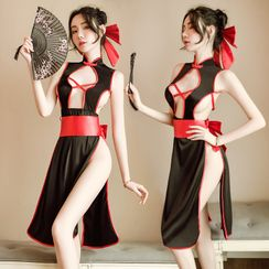 Colorful Days - Lingerie Witch Costume Set