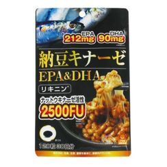 Fine Japan - 納豆激酶 + EPA & DHA 軟膠囊