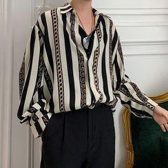 Bjorn - Long-Sleeve Striped Shirt