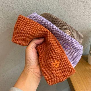 Cap Station - Plain Knit Face Wash Headband