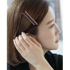 Miss21 Korea - Rhinestone Pavé Hair Clip