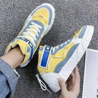 JACIN - High-Top Lace-Up Sneakers
