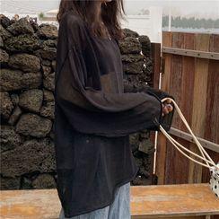 Moon City - Plain Knit Top