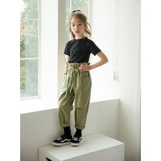 Meroboz - Kids Short-Sleeve T-Shirt / Cargo Pants