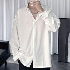Shazoom - 純色襯衫