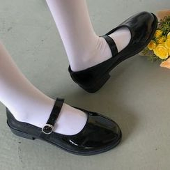 SouthBay Shoes - Patent Mary Jane Flats