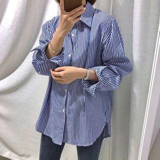 Onnell - 長袖條紋襯衫