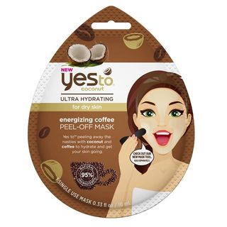 Yes To - Yes to Coconut: Energizing Coffee Peel-Off Mask (Single Pack)