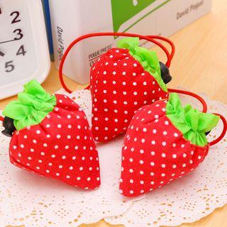 Maltjoy Home - Foldable Fabric Strawberry Drawstring Pouch
