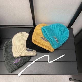 SuperLittle - Lettering Knit Beanie