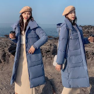 Robynn - Hooded Padded Long Jacket