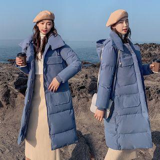 Robynn - 連帽夾棉長款外套