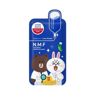 Mediheal - N.M.F Aquaring Ampoule Mask Set 10pcs (Line Friends Edition)