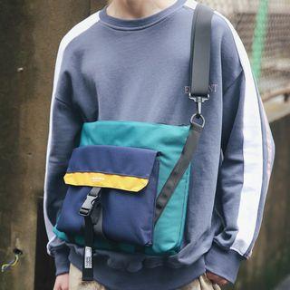 SUNMAN - Color Block Lightweight Crossbody Bag