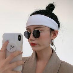 4.4 STUDIO - Plain Knit Face Wash Headband