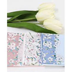 Miss21 Korea - Blossom Cotton Handkerchief