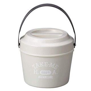 Hakoya - Hakoya Bucket Lunch Box (Take me) (Grey)