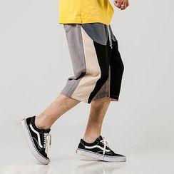 Ferdan - Color Block Shorts