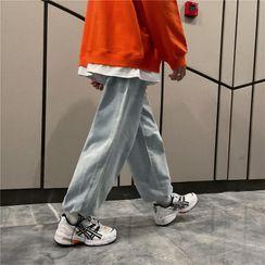 Dukakis - 九分哈伦牛仔裤