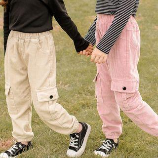 Youtale - Kids Corduroy Harem Cargo Pants