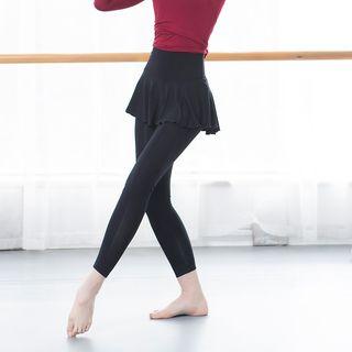 Winkplay - Inset Dance Skirt Leggings