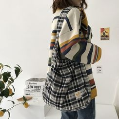 TangTangBags - Plaid Tote Bag