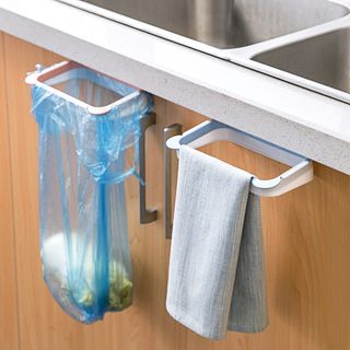 Home Simply - Trash Bag Hanger / Towel Holder