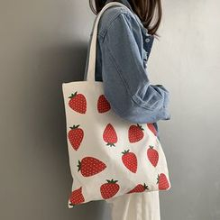 Sacculi - Patterned Canvas Tote Bag