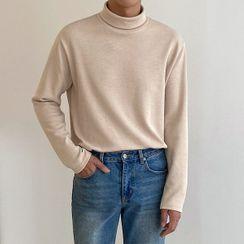 Seoul Homme - Turtle-Neck T-Shirt