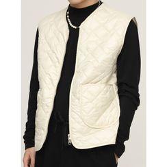 FAERIS - Quilted Zip Vest
