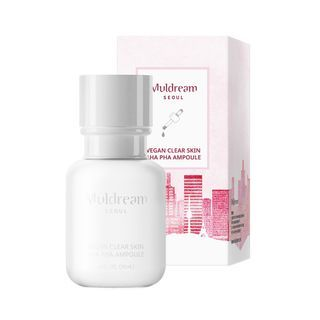 Muldream - Vegan Clear Skin AHA PHA Ampoule