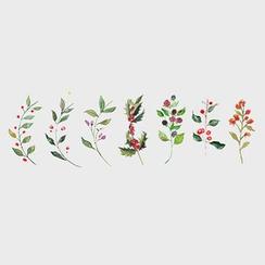 Tattoofield - 碎花防水紋身貼紙