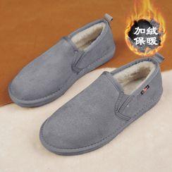 TATALON - Plain Fleece-Lined Slip Ons