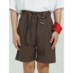 FAERIS - High-Waist Dress Shorts