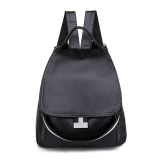 Genova - Faux Leather Backpack