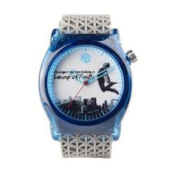 Moment Watches - BE FAITHFUL Time to take a leap Strap Watch