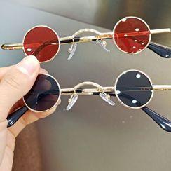 iLANURA - Kids Metal Frame Round Sunglasses