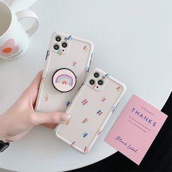 Casei Colour - 彩虹印花手機保護套 - iPhone 11, 11 Pro, 11 Pro Max, XS Max, X/XS, XR, 8p/7p, 8/7