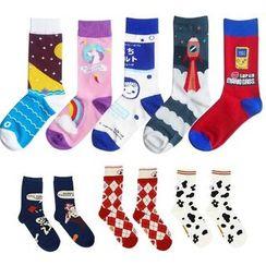 Sockaday - 圖案襪子 (多款設計)