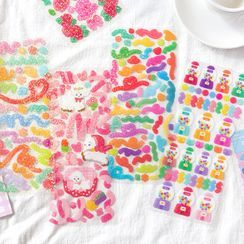 OH.LEELY(オーリーリ) - Cartoon Sticker (various designs)