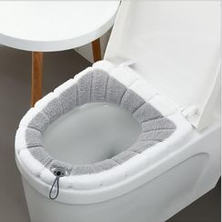 Good Living - Two-tone Toilet Seat Cover