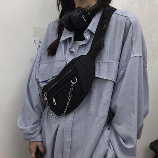 Koiyua - Chain Zip Sling Bag
