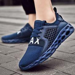 Auxen(オークセン) - Lettering Mesh Sneakers