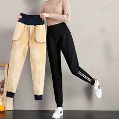 ERNICE - Fleece Lined Sweatpants