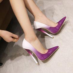 Kireina(キレイナ) - Gradient Pointed High-Heel Pumps